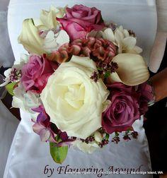 Bridal Bouquet by Flowering Around