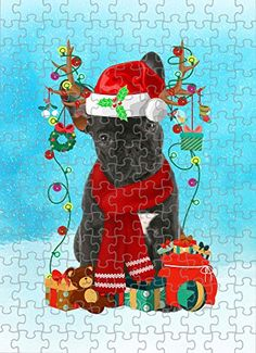 French Bulldog Dog in Snow Jigsaw Puzzle, Christmas, 1000 Pieces Jigsaw Puzzle PrintYmotion #French Bulldog #Dog Lovers gift #Christmas Gift #Christmas Puzzle Lovers Gift, Gift For Lover, Dog Lovers, Christmas Puzzle, Time Images, Love Challenge, Snow Dogs, Tin Boxes, Kids Boxing