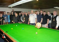 Trevor Lamb came out on top as 28 of the region's best snooker players met in the North Lancashire Area Snooker Competition in Lancaster.