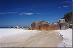 Squeaky Beach, Wilsons Promontory | CaravanCampingOz.com Wilsons Promontory, Travel Around, Travelling, Victoria, Adventure, Beach, Places, Water, Outdoor