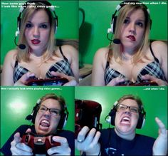 girl-gamers, this is how I game