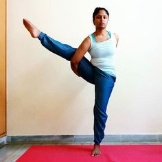 """REAL Peace is always unshakable... Bliss is unchanged by gain or loss."" Yogi Bhaja #svargadvijasana #birdofparadisepose #yoga #yogalove #yogadevotee #yogabliss #yogaposes #yogaposer #inhalepeace #exhalelove #mrngyoga #qotd  #happysaturday #practiceyogachangeyourworld  #mahadev by mrng_sunbeams_lover"