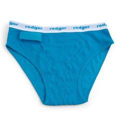 Slip Rodger de color azul. Vienen en bolsas de 2 unidades. Para ver tallas disponibles, conéctate a www.alarmapipi.es.