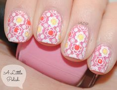 A Little Polish: AIS - Spring Flowers