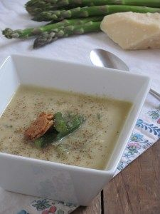Week 13: Roasted Asparagus & Sweet Potato Soup by simple & amazing ...