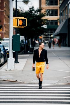 #StreetStyle: NYFW Mens - Street Style New York Fashion Week Mens | Galería de fotos 48 de 109 | VOGUE