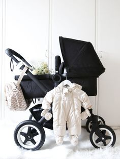 Bugaboo Buffalo all black <3 Find out how you can easily get a good stroller for your little one @ www.bestbabystrollerhq.com
