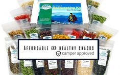 """Are you a enthusiast? Then you have most likely heard of Harmony House Foods, Inc. Dehydrated goods have long been a staple for backpackers and around the world, but they have perfected these foods with the """"Backpacking Kit"""". Camping Foods, Dehydrated Food, Meteor Shower, Glamping, Campers, Backpacking, Vacations, Healthy Snacks, Kit"""