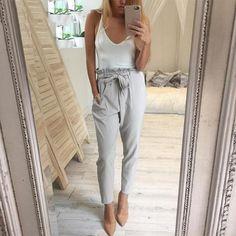 2018 New High Waist Trousers
