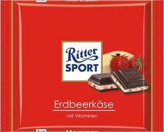 RITTER SPORT Fake Schokolade Erdbeerkäse