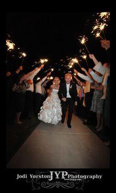 Sparklin' Bride and Groom