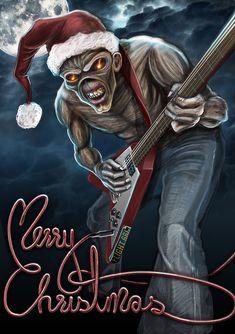 heavy metal christmas  | Wallpapers de bandas de rock y heavy metal! - Taringa!