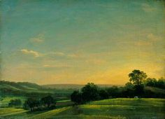 Dedham Vale, Evening (John Constable).