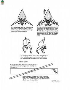 Origami Oak Tree