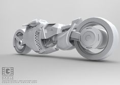 Sci Fi Bike Final Back by CatalanoMedia on DeviantArt