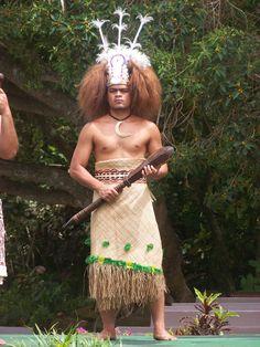Samoan in his native dress.