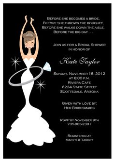 Bridal Shower Invites #bridalshower #invitations
