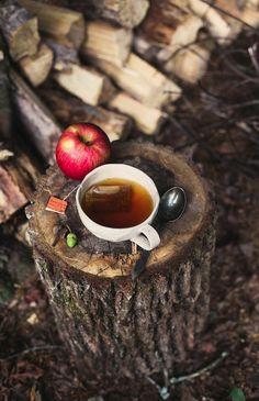 Hot Tea on a Cold Autumn Day!