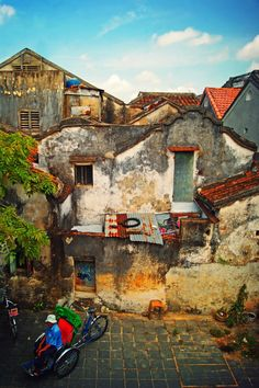Old Houses in Hoi An - Vietnam