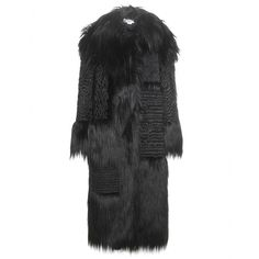 Stella McCartney - Nyla faux fur coat - Stand tall and statuesque in this faux fur coat from Stella McCartney this fall and winter. Intricate embroidery adorns the mountainous masterpiece for a statement look of sheer opulence. Sublimely soft to the touch, it'll prove an obvious choice to throw over everything throughout the colder months. seen @ www.mytheresa.com