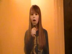 """Connie Talbot at 6 years old was a finalist on Britain's Got Talent. Here she is at 10 singing """"My Heart will Go On."""""""