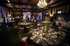 Reception at the Racquet Club East |  Photography: Will Jackson Photography | Wedding Planner: Cosmopolitan Events