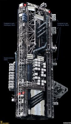 Space Station Tech Sheet by KARAKTER