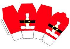 Santa Claus: Imprimibles Gratis para Fiestas y Cajas para Imprimir Gratis. | Ideas y material gratis para fiestas y celebraciones Oh My Fiesta!