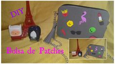 Diy bolsa de patches/diy patches bag