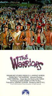 "This is about a gang called ""The Warriors"".  They're framed for killing a gang leader trying to unite all the gangs in the area.  My favorite line was, ""I'll take that bat, shove it up your ass and make a popscicle out of you""!  I've used that through out the years under different circumstances, different weapons!"