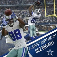 c9bc2df17 Happy Birthday Dez Bryant! Throw up the X!