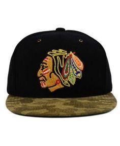 Ccm Chicago Blackhawks Fashion Camo Snapback Cap - Black Camo Adjustable  Chicago Blackhawks 4ec24602c1ca