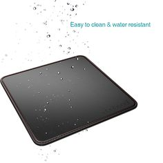 "High Quality dodocool 2-in-1 Mouse Pad Carrying Case PU Leather Surface Non-slip Base Stitched Edges 7.48"" x 7.48"" from tomtop.com"