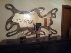 Χειροποίητη δημιουργία μου σε ξύλο-υπάρχει δυνατότητα διαφοροποιήσεων. Mirror, Furniture, Home Decor, Home Furnishings, Home Interior Design, Decoration Home, Mirrors, Home Furniture, Home Decoration