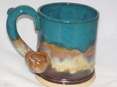 Wake and Bake Southwestern hues coffee mug pipe by OrganicFlame
