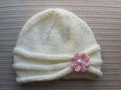Rolled Brim Hat for a Girl