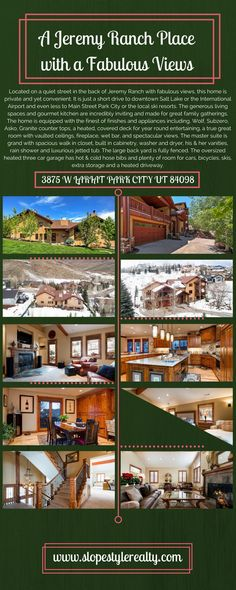 Granite, Skiing, Ranch, Luxury, Places, Style, Ski, Guest Ranch, Swag