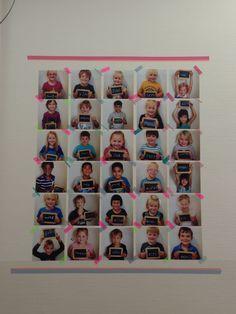 Foto's van kids... te gebruiken als verjaardagskalender, welkom begin schooljaar.