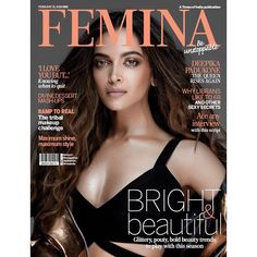 Deepika Padukone dazzles on the cover of Femina – See pic - The News Minute