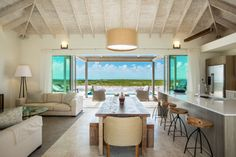 wow. #SailRock has come a long way since my semester at SFS South Caicos 2 years ago. Make sure you do it sustainably and do it right, Sail Rock!   The Great Room of the breathtaking Coral 2 #Villa - isn't it gorgeous? To learn more about our #luxury villa offerings, visit http://www.sailrocksouthcaicos.com/real-estate/villas.