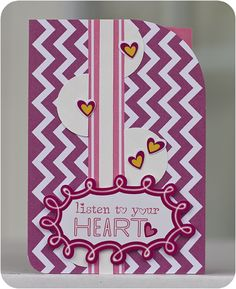 Listen to Your Heart - Just Because Card Set #Scrapbooking Card from Creative Memories