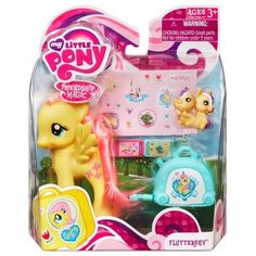 my little pony | My Little Pony Fluttershy la figura con la maleta