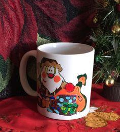 SANTA Hand-decorated Coffee Mug