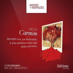 O pigmento natural de tom vermelho vivo é usado desde os primórdios da humanidade como pintura corporal. A lacca Dell Anno Carmim remete sofisticação e vivacidade à decoração.