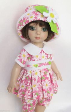 """PATSY'S DELIGHTFUL IN DAISIES! FOR 10"""" ANN ESTELLE, ETC. MADE BY SSDESIGNS"""