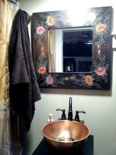 Tiny House Inside Bathroom tiny house on wheels - soak - copper sink in bathroom | lilypad, a