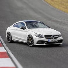@mercedesbenz will debut the 2017 Mercedes-AMG C63 coupe at the Frankfurt Motor Show next month. For more information head over to hypebeast.com
