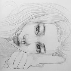Secrets Of Drawing Most Realistic Pencil Portraits - - . Secrets Of Drawing Realistic Pencil Portraits - Discover The Secrets Of Drawing Realistic Pencil Portraits Portrait Sketches, Pencil Portrait, Art Drawings Sketches, Portrait Art, Figure Painting, Figure Drawing, Painting & Drawing, Aesthetic Drawing, Aesthetic Art