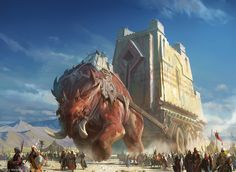 Siege Craft by Hamsterfly giant beast of burden