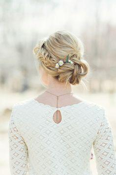 Flower Power: Classic Floral Wedding Hairstyles by Jackie Schneider - MODwedding